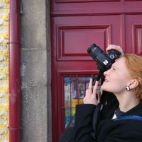 Photographing in Porto