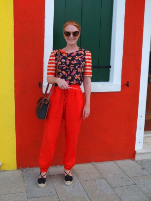 Burano (Venice). Shirt Essentiel Antwerp
