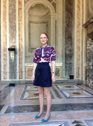 Villa Farnesina, Rome, Shirt Satu Maaranen for Petit Bateau