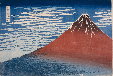 Hokusai, Fine Wind, Clear Morning, 1830-32