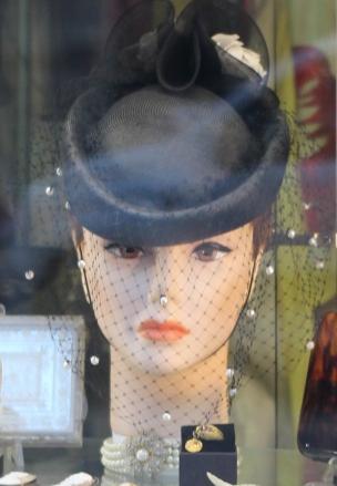 Womans Head Antique Store