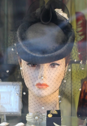 Womans Head Antique Store