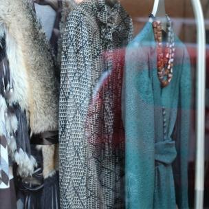 Window Vintage shop Sabrina Manin, Via B. Cellini