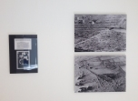 """works by Franco Vaccari, with """"dust"""" photograph of the Large Glass by Marcel Duchamp"""