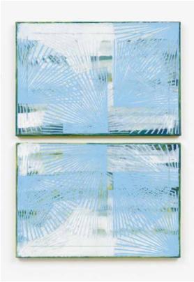 Clara Brörmann, Horizont 5, oil on canvas, 2016