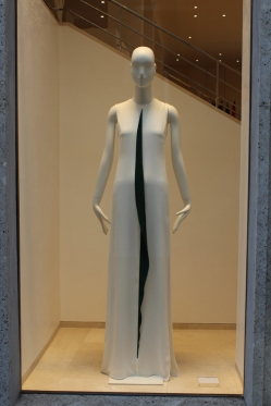 Akris (you could say Lucio Fontana dress)