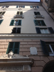 Palazzo Montanaro where Velery lived