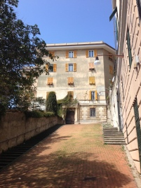 The house nearby palazzo Montanaro