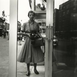 Vivian Maier, self-portrait, New York, 1954.