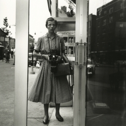 Vivian Maier, self-portrait, New York, 1954.