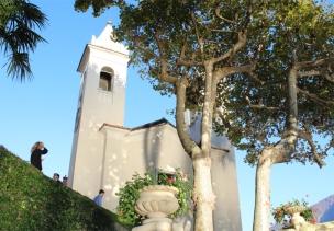 Villa del Balbianello, church