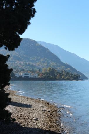 Villa Melzi Park view on lake