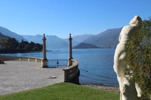 View on lake Como, Villa Melzi, Bellano