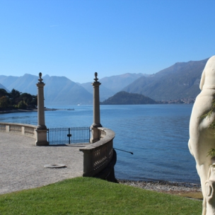 View on lake Como, Villa Melzi, Bellano